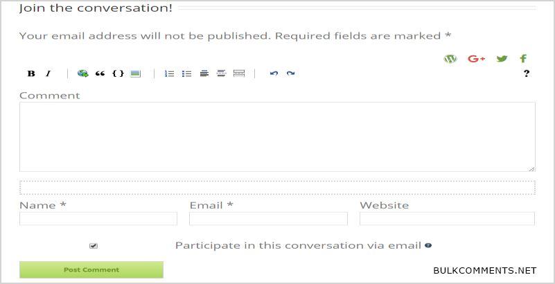 Postmatic WordPress Comments